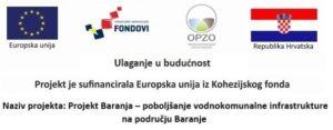 Projekt Baranja – poboljšanje vodnokomunalne infrastrukture na području Baranje