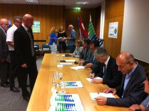Potpisivanje aneksa ugovora - srpanj 2016. g.